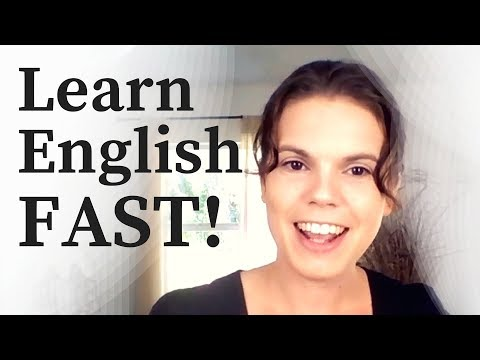 How to Learn English FASTER!