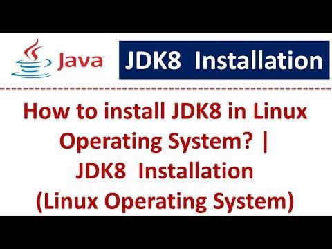 Java Tutorial : JDK8  Installation (Linux Operating System)