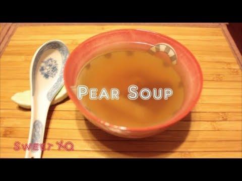 Easy to Make Pear Soup (*V*)