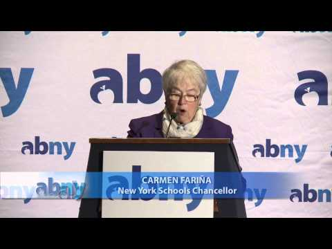 CUNY TV Presents ABNY:  New York City Schools Chancellor Carmen Fariña
