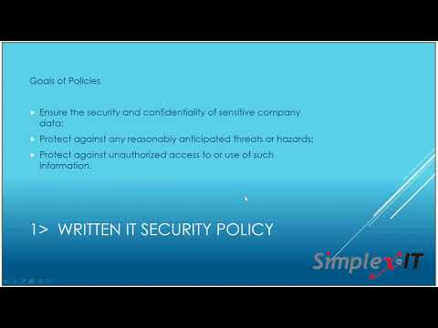 IT Policies and Procedures