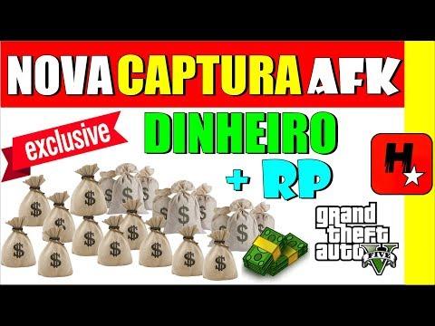 GTA V 1.42 DINHEIRO INFINITO + RP *CAPTURA AFK* MÉTODO P/ UPAR CONTA NO GTA 5 SEM MONEY GLITCH