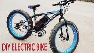 Download DIY Electric Bike 40km/h Using 350W Reducer Brushless Motor