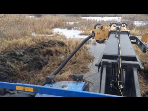 Crary Tile Plow Operation In Saskatchewan