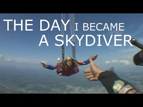 The day I became a skydiver, my freefall progression, AFF jumps - Marc-André Denault