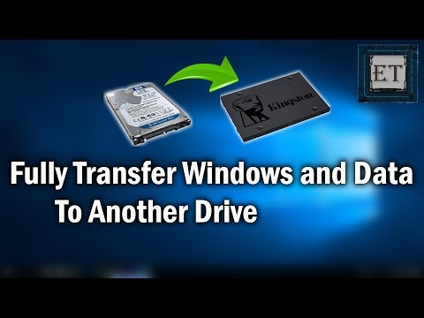 How To Fully Transfer Windows and Data To Another Hard Drive for Free