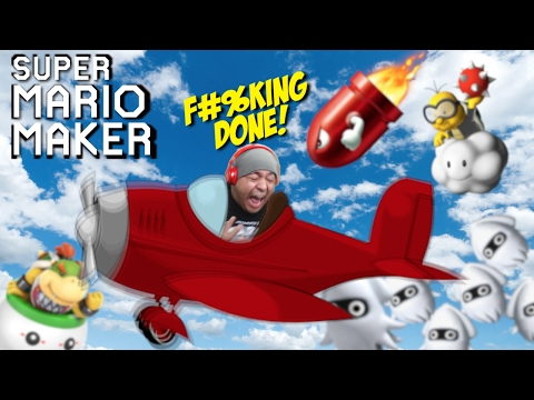 I MIGHT F#%KING QUIT AFTER THIS ONE!! [SUPER MARIO MAKER] [#77]
