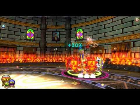 Wizard 101 Vengeful Efreet Item card
