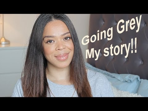 GOING GREY|MY STORY|IS IT EASY??|OVER 40??