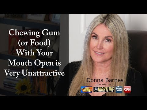 Chewing Gum is Very Unattractive
