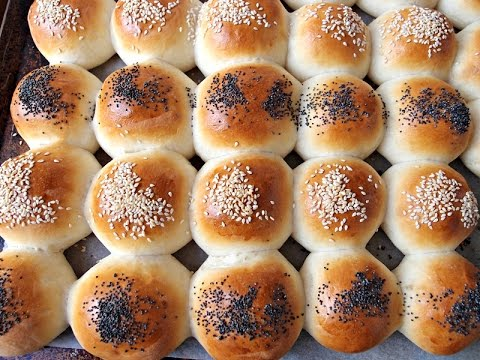 Bread Dough: Super Soft and Moist Chinese Bakery Buns - Eggless Ladi Pav Bread Buns Recipe