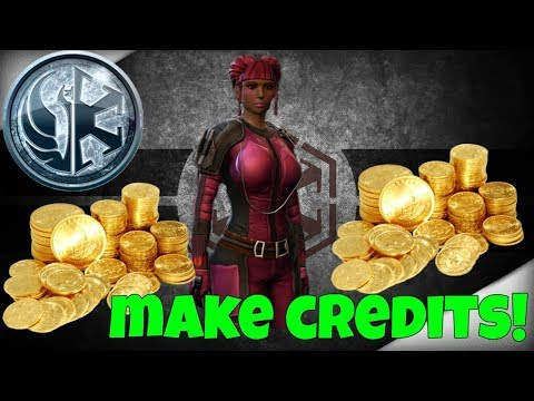Swtor: Top 5 ways to make credits!