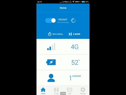 Cara Setting MIfi Alcatel Y853 Via WEB & Via Aplikasi