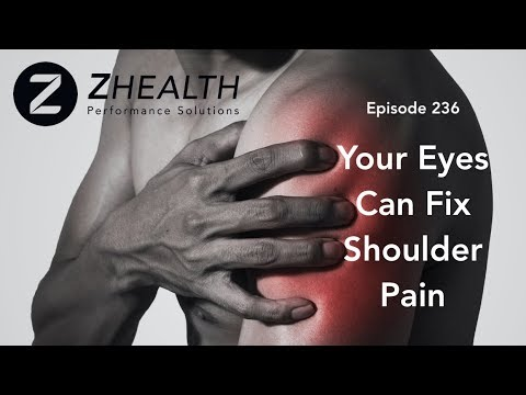 Your Eyes Can Fix Shoulder Pain