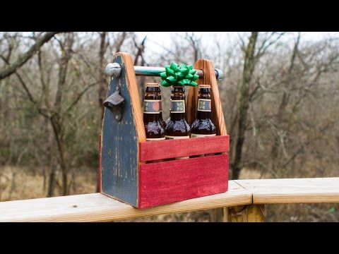 Building DIY Pete's Beer Caddy | DIY Six Pack Carrier | How-To
