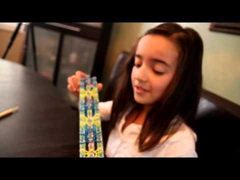 How to make a Starburst Bracelet - Rainbow Loom