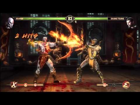 [HD] MK9 Kratos Ladder Gameplay Pt. 3