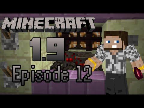 Minecraft 1.9 -- Ep12: Fancy Spider Grinder