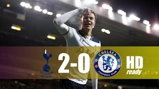 Tottenham Hotspur vs Chelsea 2-0 - All Goals & Extended Highlights - EPL 04/01/2017 HD