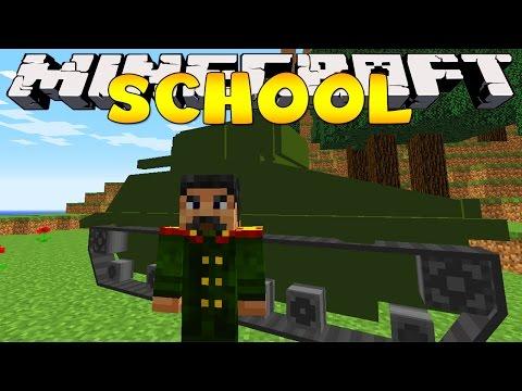 Minecraft School : ARMY BASE FIELD TRIP!