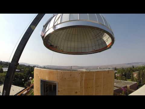 Science 2 observatory dome installation