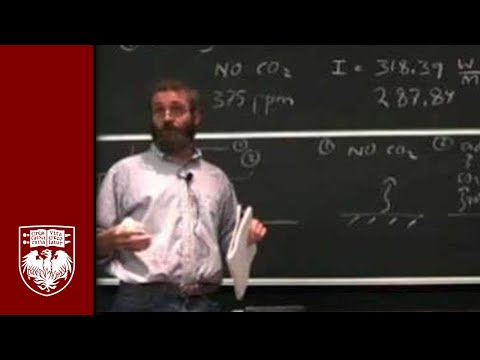 Lecture 7 - Greenhouse Gases in the Atmosphere