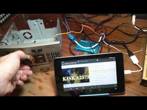 Opel Astra Blaupunkt CD30 MP3 HID Keyboard emulation