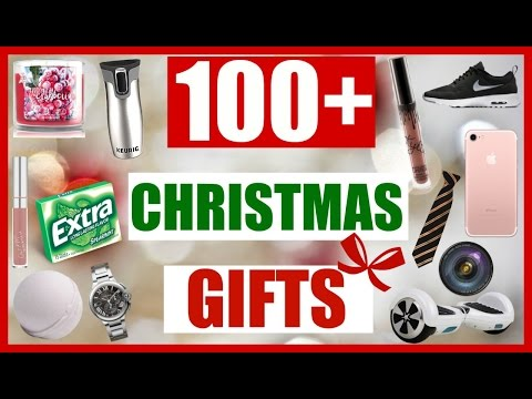 100+ Last Minute Christmas Gift Ideas for EVERYONE 2016! A Christmas Gift Guide!