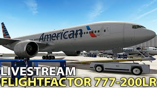 Livestream] EADT x737 v5 w/ 3d Cockpit in X-Plane 10 | 2016-04-16