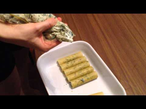 Themomix Cannelloni How-To Fill the Tubes
