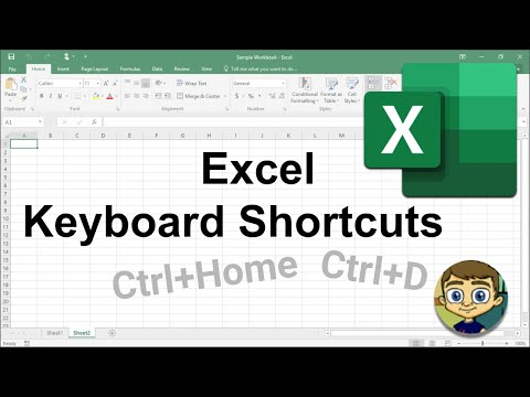 Most Useful Excel Keyboard Shortcuts - Tutorial 2018
