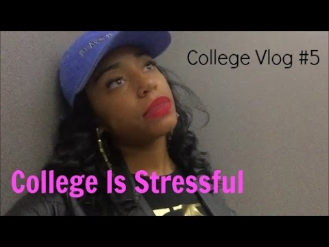 College Is Stressful, I'm Dropping Out | College Vlog #5
