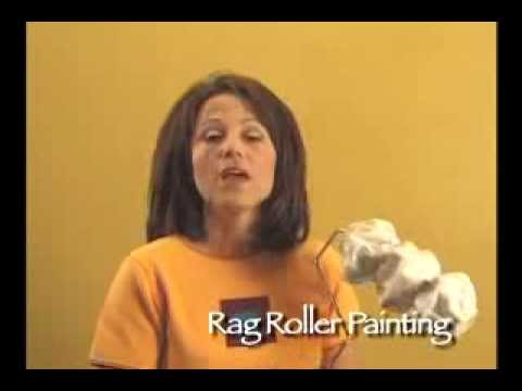 WOOLIE Rag Roller Painting Technique
