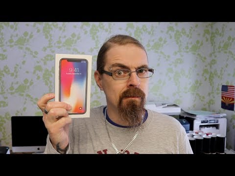 iPhone X Unboxing 2018