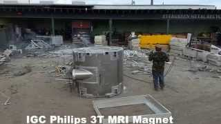 Recycling of MRI Magnets
