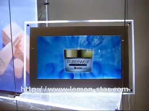 NEW STYLE SLIM CRYSTAL LED LIGHT BOX PHOTO FRAME