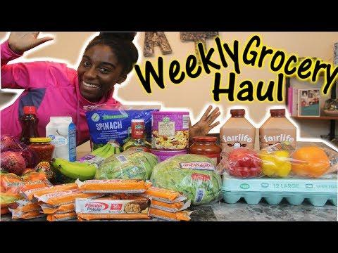 $50 Weekly Grocery Haul   Aldi & Walmart Haul Vlogmas