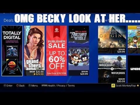 PSN DEALS - PS4 Sale- Video Games Digital Savings - PS PLUS DEAL