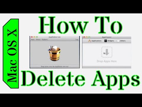 How to Delete Files/Folders and Uninstall Applications in Mac OS X