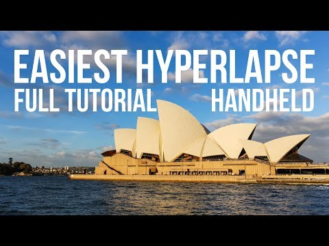 Beginner hyperlapse tutorial - The EASY way