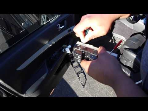 Window Lock Fix and Replacing on Infiniti G37s