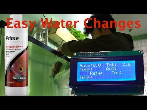 DIY Semi-Auto Aquarium Water Changer