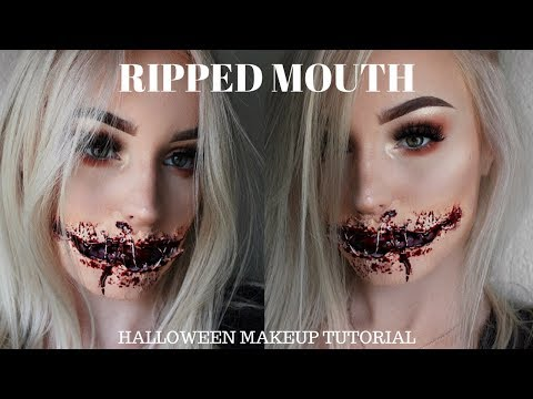 RIPPED MOUTH | Halloween SFX Makeup