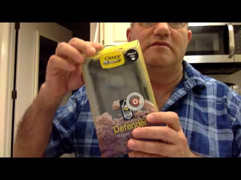 My OtterBox Defender  & Glass Screen Protector - INSTALL & UNBOXING & Misc - i-Phone 7 Plus- 2017