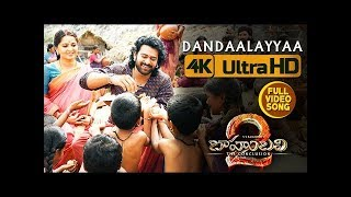 Dandaalayyaa Full Video Song | Baahubali 2 | Prabhas, Anushka Shetty, Rana, Tamannaah, SS Rajamouli