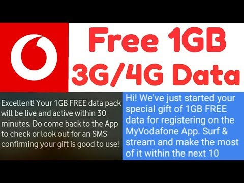vodafone loot Register करते ही 1GB vodafone 4G Net free || Unlimited Calling For 28 Days || hindi ||