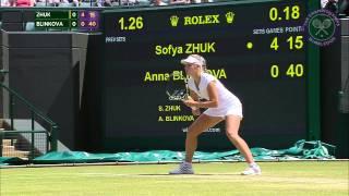 2015 Day 12 Highlights, Sofya Zhuk vs Anna Blinkova, Final
