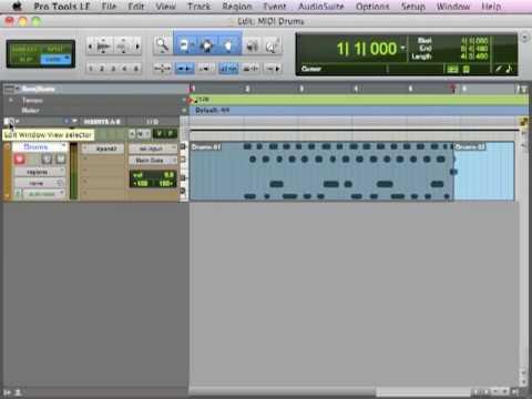 Creating Custom MIDI Drum Loops - TheRecordingRevolution.com