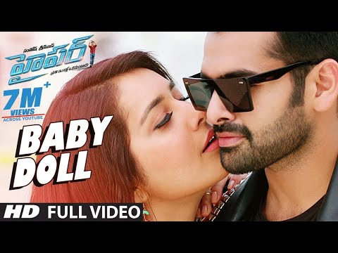Hyper Songs | Baby Doll Full Video Song | Ram Pothineni, Raashi Khanna | Ghibran