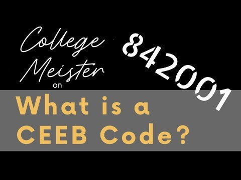 What is a CEEB High School Code and Why is it Important?